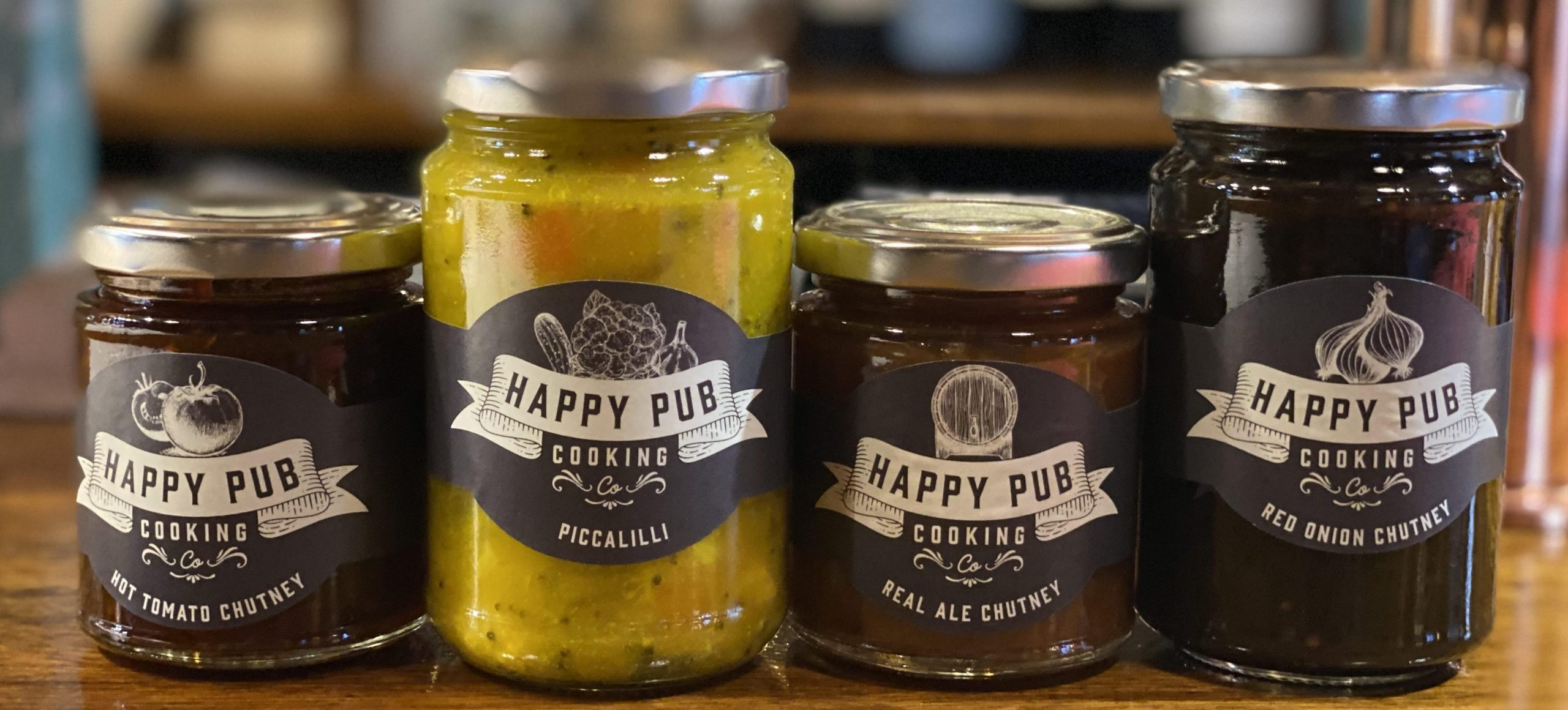 'Happy Pub Cooking' Chutneys