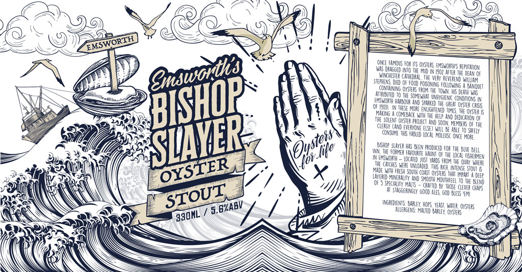 Bishops Slayer Stout – Available now